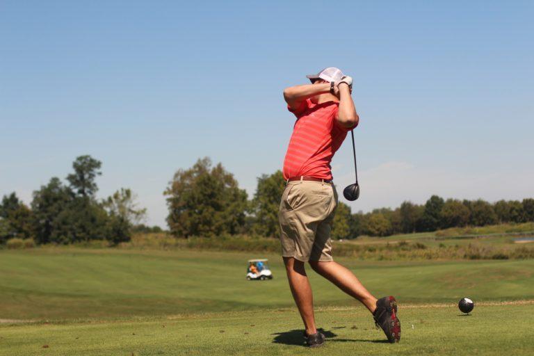 proper golf backswing