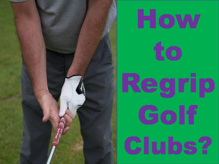 how to regrip golf clubs